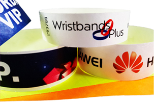 Colour Printed Tyvek Wristbands