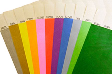 5e4b2d37c7ee Tyvek Wristbands - paper wristbands for events