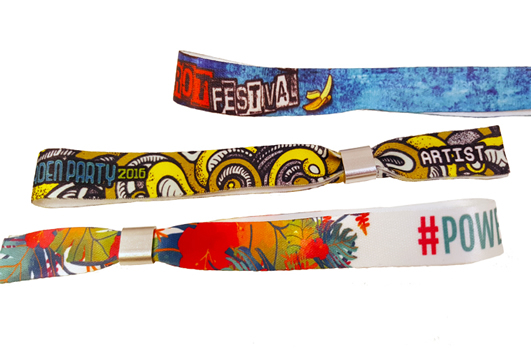 Sublimation Fabric Wristbands