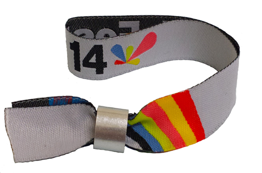 Woven Fabric Wristbands